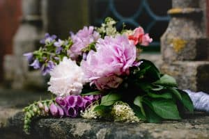 Wedding Bouquet by Lucy J Toms Photography